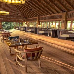 Hurawalhi Island - Luxury Maldives Honeymoon Packages - Restaurant