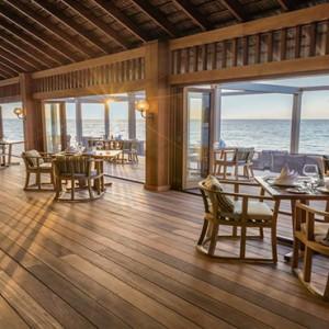 Hurawalhi Island - Luxury Maldives Honeymoon Packages - Restaurant1
