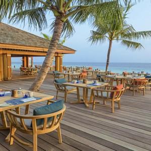 Hurawalhi Island - Luxury Maldives Honeymoon Packages - Restaurant2