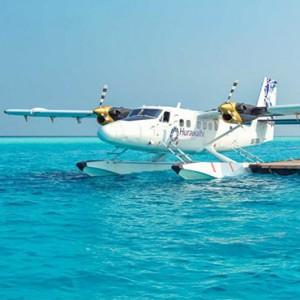 Hurawalhi Island - Luxury Maldives Honeymoon Packages - Seaplane transfers