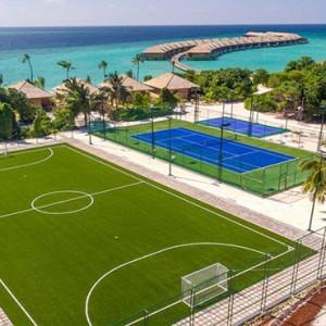 Hurawalhi Island - Luxury Maldives Honeymoon Packages - Sports ground