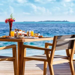 Hurawalhi Island - Luxury Maldives Honeymoon Packages - in-villa breakfast