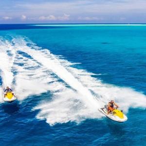 Hurawalhi Island - Luxury Maldives Honeymoon Packages - jet ski