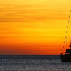 Hurawalhi Island - Luxury Maldives Honeymoon Packages - sailing yacht