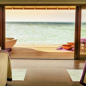 Hurawalhi Island - Luxury Maldives Honeymoon Packages - spa treatment room