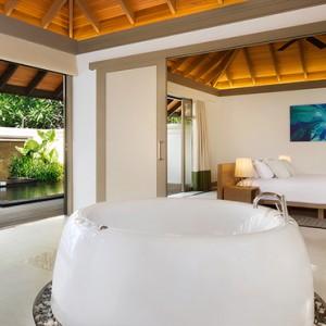 JA Manafaru - Luxury Maldives Honeymoon Packages - One bedroom beach suites with private pools bathroom1