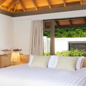 JA Manafaru - Luxury Maldives Honeymoon Packages - One bedroom beach suites with private pools bedroom