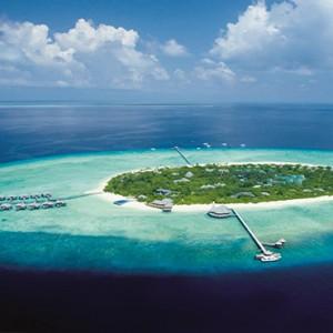 JA Manafaru - Luxury Maldives honeymoon packages - Aerial view