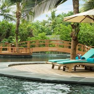 JA Manafaru - Luxury Maldives honeymoon packages - Andiamo Bistro and Pool area