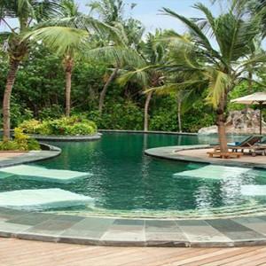JA Manafaru - Luxury Maldives honeymoon packages - Andiamo Bistro and Pool outdoors