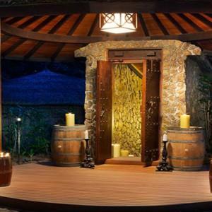 JA Manafaru - Luxury Maldives honeymoon packages - Entrance of the cellar