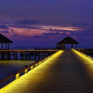 JA Manafaru - Luxury Maldives honeymoon packages - Jetty