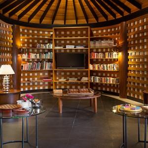 JA Manafaru - Luxury Maldives honeymoon packages - Library area
