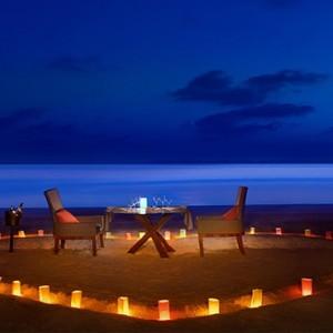 JA Manafaru - Luxury Maldives honeymoon packages - candlelit dining