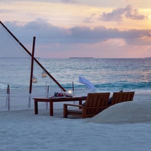 JA Manafaru - Luxury Maldives honeymoon packages - private romantic dining1