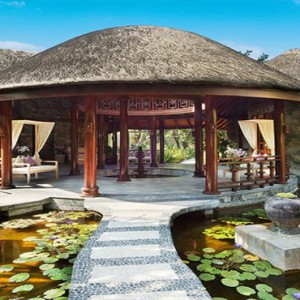 JA Manafaru - Luxury Maldives honeymoon packages - spa exterior