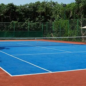 JA Manafaru - Luxury Maldives honeymoon packages - tennis pitch