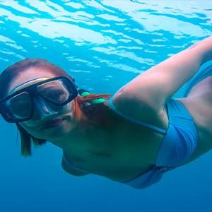JA Manafaru - Luxury Maldives honeymoon packages - watersports - snorkeling