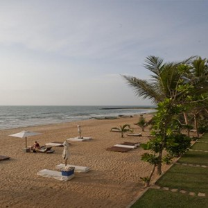 Jetwing Sea - Luxury Sri Lanka Honeymoon Packages - beach view