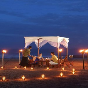 Jetwing Sea - Luxury Sri Lanka Honeymoon Packages - private dining