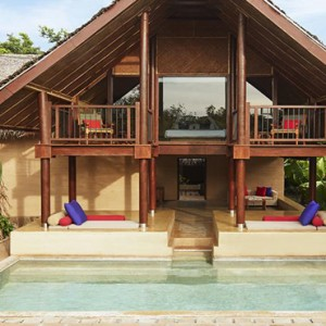 Jetwing Vil Uyana - Luxury Sri Lanka Honeymoon Packages - Forest Dwelling exterior with pool