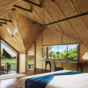 Jetwing Vil Uyana - Luxury Sri Lanka Honeymoon Packages - Marsh Dwelling with pool interior