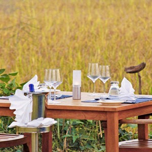 Jetwing Vil Uyana - Luxury Sri Lanka Honeymoon Packages - Private dining