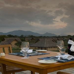 Jetwing Vil Uyana - Luxury Sri Lanka Honeymoon Packages - Private dining with a view