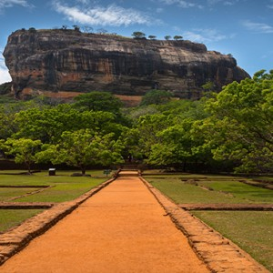 Jetwing Vil Uyana - Luxury Sri Lanka Honeymoon Packages - Sigiriya rock attraction