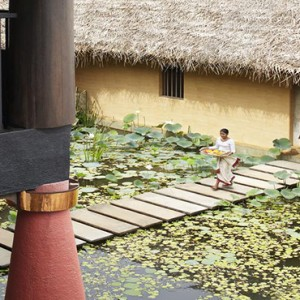Jetwing Vil Uyana - Luxury Sri Lanka Honeymoon Packages - Spa Entrance