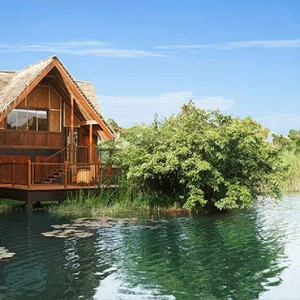 Jetwing Vil Uyana - Luxury Sri Lanka Honeymoon Packages - Water Dwelling Exterior