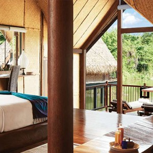 Jetwing Vil Uyana - Luxury Sri Lanka Honeymoon Packages - Water Dwelling Interior