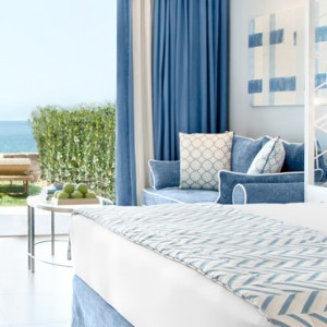 Junior Suite with Private Garden - Ikos Oceania Halkidiki - Luxury Greece Holiday Packages