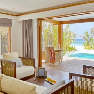 Kandolhu Maldives - Luxury Maldives Honeymoon Packages - Duplex Pool Villas pool view