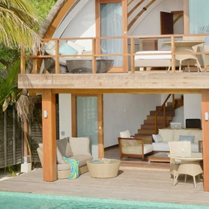 Kandolhu Maldives - Luxury Maldives Honeymoon Packages - Duplex pool villa exterior