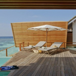 Kandolhu Maldives - Luxury Maldives Honeymoon Packages - Ocean Pool Villa exterior1