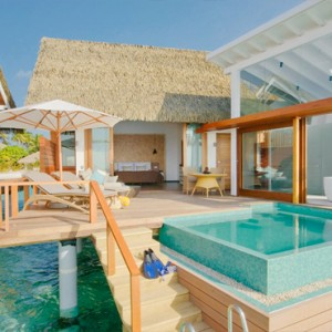 Kandolhu Maldives - Luxury Maldives Honeymoon Packages - Ocean Pool Villa view