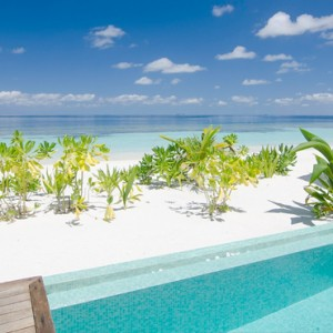 Kandolhu Maldives - Luxury Maldives Honeymoon Packages - Pool Villas pool ocean view