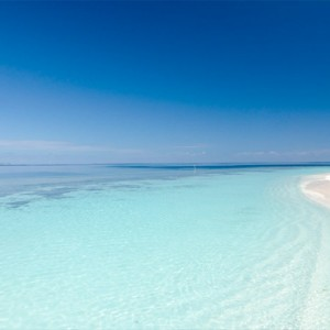 Kandolhu Maldives - Luxury Maldives Honeymoon Packages - ocean and beach view