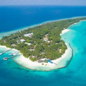 Kuramathi Maldives - Luxury Maldives Honeymoon Packages - Aerial View