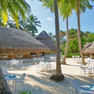 Kuramathi Maldives - Luxury Maldives Honeymoon Packages - Palm exterior