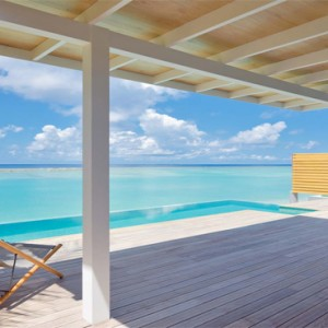 Kuramathi Maldives - Luxury Maldives Honeymoon Packages - Pool villa Pool and Ocean view