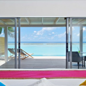 Kuramathi Maldives - Luxury Maldives Honeymoon Packages - Pool villa Pool and Ocean view1