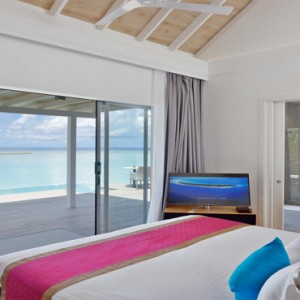 Kuramathi Maldives - Luxury Maldives Honeymoon Packages - Pool villa interior