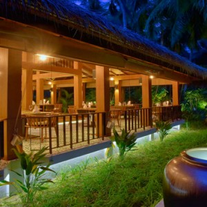 Kuramathi Maldives - Luxury Maldives Honeymoon Packages - Siam Garden exterior view