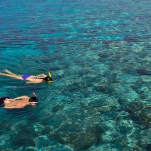 Kuramathi Maldives - Luxury Maldives Honeymoon Packages - Snorkeling