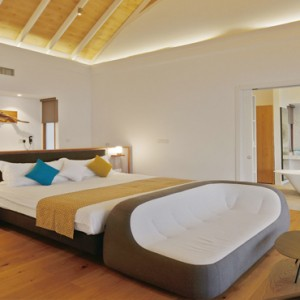Kuramathi Maldives - Luxury Maldives Honeymoon Packages - Thundi Water Villa with Pool Interior1