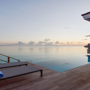 Kuramathi Maldives - Luxury Maldives Honeymoon Packages - Thundi Water Villa with Pool pool view