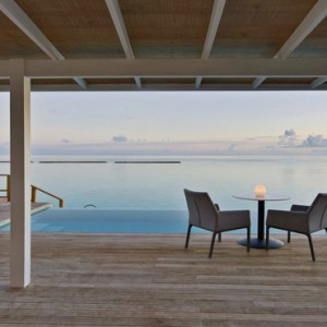 Kuramathi Maldives - Luxury Maldives Honeymoon Packages - Thundi Water Villa with Pool terrace