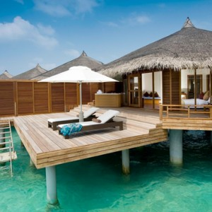 Kuramathi Maldives - Luxury Maldives Honeymoon Packages - Water villa with jacuzzi